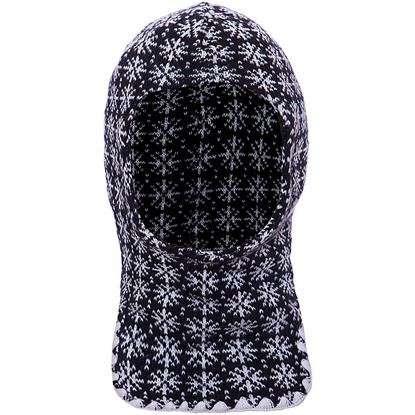 Купить Шапка-шлем Lamba villo, Латвия, черный/белый, one size, Мужской