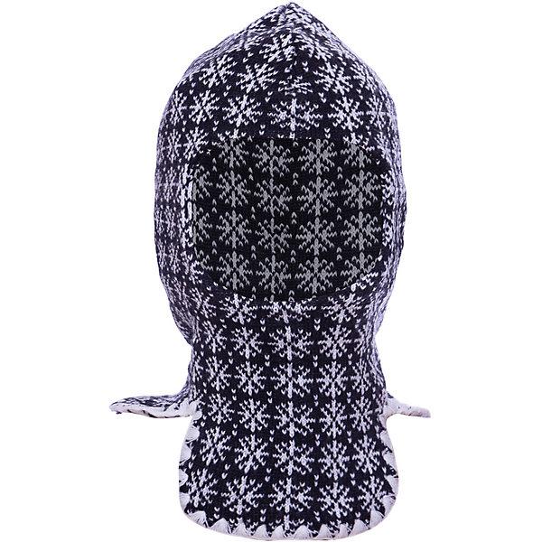 Купить Шапка-шлем Lamba villo, Латвия, белый/серый, one size, Мужской
