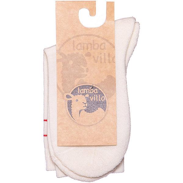 Термоноски Lamba villo SoftНоски и колготки<br>Характеристики товара:<br><br>• состав ткани: 95% шерсть, 5% эластан<br>• сезон: круглый год<br>• широкая резинка не стягивает ногу<br>• страна изготовитель: Латвия<br><br>Термоноски Ламба Вилло выполнены из шерсти, которая обладает гипоаллергенными свойствами, поэтому не вызывает раздражения, даже если надета на голую ногу. Они эффективно согревают ноги, поглощают и отводят влагу. Обратите внимание на условия стирки, указанные на упаковке, чтобы вещь оставалась как новая долгое время.
