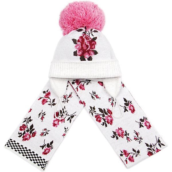 Фото #1: Комплект: шапка, шарф Gakkard для девочки