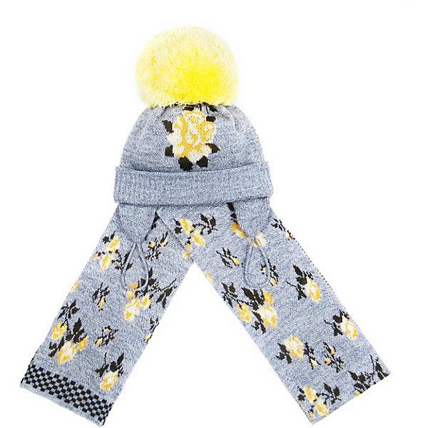 Gakkard Комплект Gakkard: шапка и шарф набор шапка и шарф детский для девочек c размером disney frozen