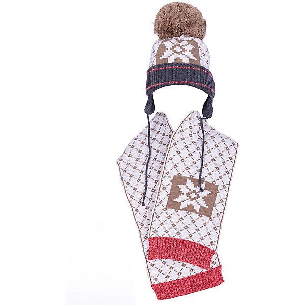 Gakkard Комплект Gakkard: шапка и шарф