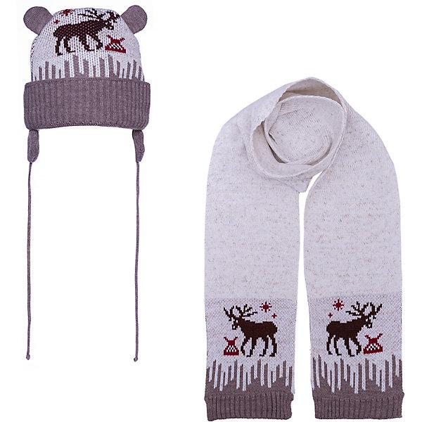 Gakkard Комплект Gakkard: шапка и шарф комплект шапка шарф розовый prikinder