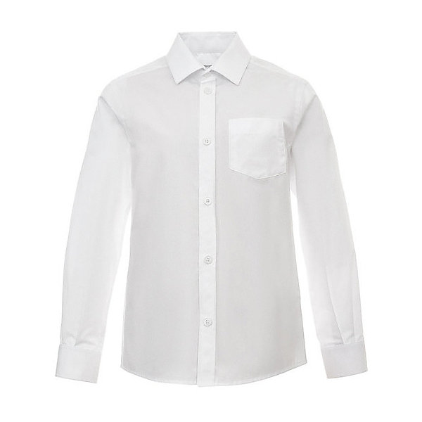 Silver Spoon Рубашка Silver Spoon для мальчика рубашка с длинным рукавом белая imperator