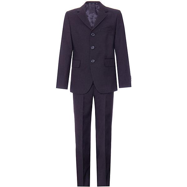 Silver Spoon Костюм: пиджак и брюки Silver Spoon для мальчика брюки с 5 карманами длина 2 от 187 см