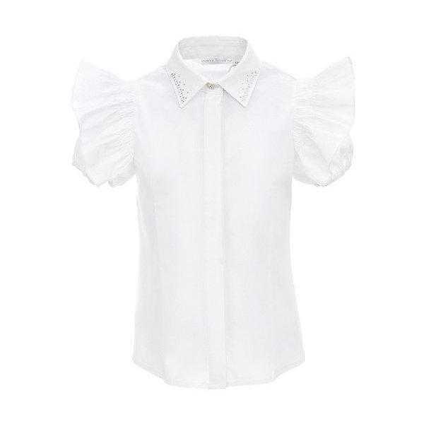 Silver Spoon Блузка Silver Spoon для девочки silver spoon silver spoon футболка поло с коротким рукавом для мальчика серая
