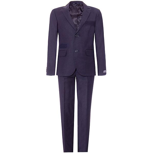 Купить Костюм Silver Spoon: пиджак и брюки, Беларусь, темно-синий, 164, 152, 128, 134, 146, 122, 140, 158, Мужской