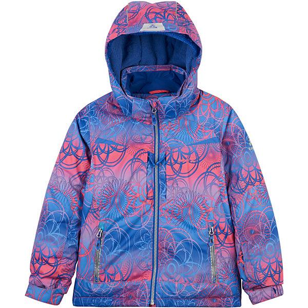 Куртка TESSIE FLORA I SCREEN U SCREEN Kamik для девочкиЗимние куртки<br>Характеристики товара:<br><br>• цвет: розовый;<br>• состав ткани верха: 100% полиэстер;<br>• подкладка: 100% полиэстер;<br>• утеплитель: 100% полиэстер (полифилл 225/170 г);<br>• сезон: зима;<br>• температурный режим: от -32 до 0;<br>• мембрана Dri-Defence;<br>• особенности модели: с капюшоном;<br>• капюшон отстегивается;<br>• водоотталкивающая способность: 8000 мм;<br>• воздухопроницаемость: 8000 г/м;<br>• светоотражающие детали 3М;<br>• снегозащитная юбка с нескользящей резинкой;<br>• трикотажные манжеты Spandex®;<br>• манжеты с запасом на вырост на рукавах;<br>• страна бренда: Канада.<br><br>Модная и теплая куртка для детей от Kamik поможет обеспечить ребенку комфорт, её можно носить даже в сильные морозы, она отлично подходит для занятий зимними активными видами спорта. Теплая мембранная куртка для ребенка сделана из качественного материала, который не пропускает воду, но позволяет воздуху проникать внутрь - это создает оптимальный для тела микроклимат и защищает от мороза. Такая детская куртка дополнена специальными светоотражающими элементами, что повышает безопасность ребенка в темное время суток. Детская одежда от известной канадской марки Kamik разработана с учетом последних тенденций в молодежной моде, она сделана из качественного материала и фурнитуры.
