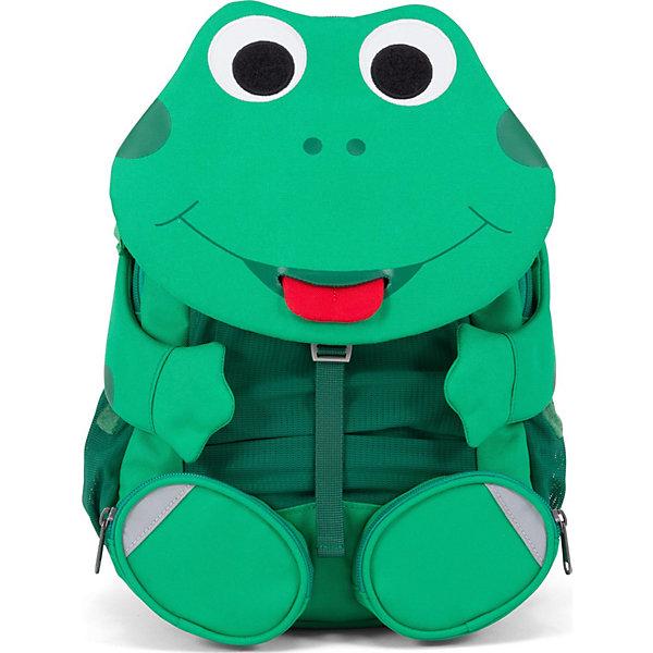 Купить Рюкзак Affenzahn Fabian Frog, основной цвет зеленый, Вьетнам, Унисекс
