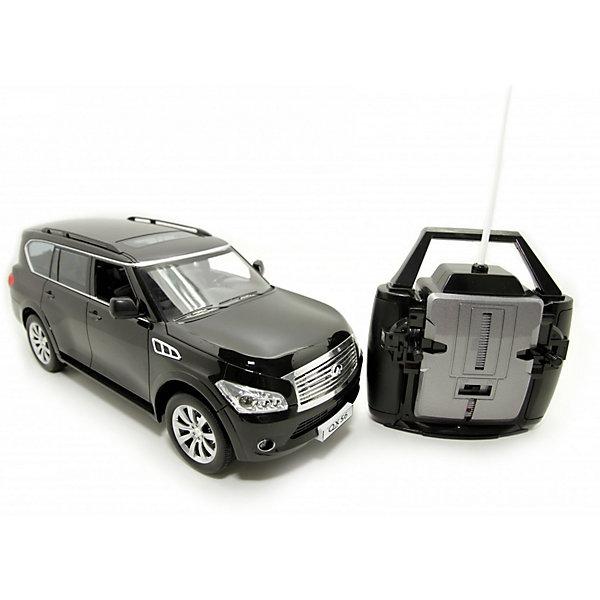 Balbi Машина на радиоуправлении Balbi Infiniti QX56 1:14, черная balbi balbi радиоуправляемая машина внедорожник crawler 1 18 зеленый
