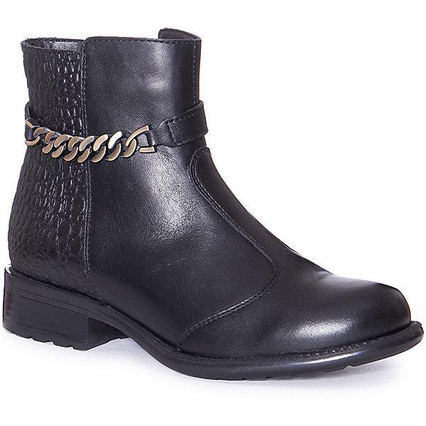 Купить Ботинки Ralf Ringer для девочки, Россия, черный, 36, 33, 34, 35, 32, 37, Женский