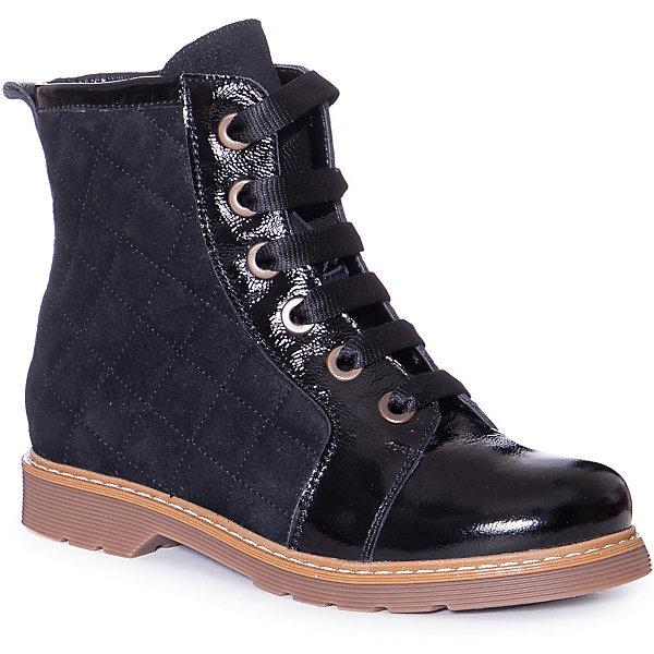 Купить Ботинки Ralf Ringer для девочки, Россия, черный, 34, 33, 36, 32, 37, 35, Женский