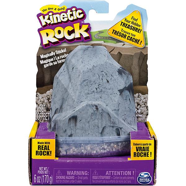 Kinetic sand Песок для лепки Kinetic Sand серия Rock, 170 гр, кинетический песок kinetic sand золотой