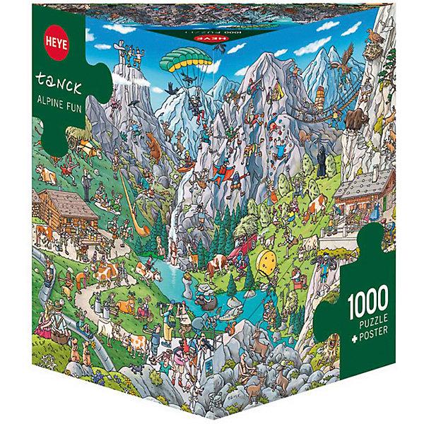 HEYE Пазлы Туристы в Альпах, 1000 деталей