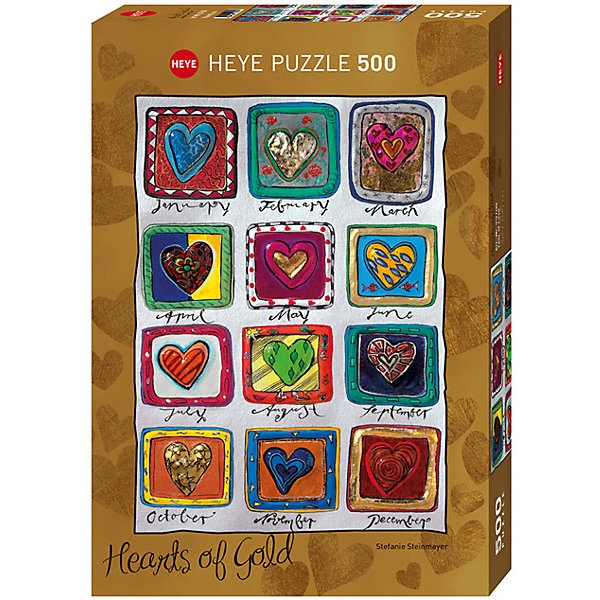 Купить Пазлы HEYE Год влюбленных , 500 деталей, с фольгой, Германия, Унисекс