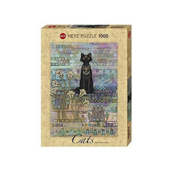 Купить Пазлы HEYE Египетская кошка , 1000 деталей, с фольгой, Германия, Унисекс