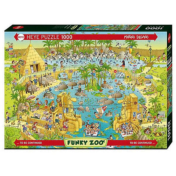 Купить Пазлы HEYE Нильский зоопарк , 1000 деталей, Германия, Унисекс