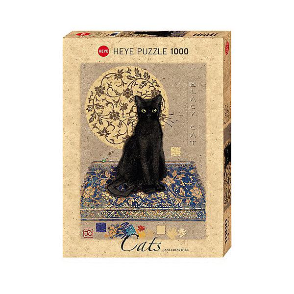 Купить Пазлы HEYE Черный кот , 1000 деталей, с фольгой, Германия, Унисекс