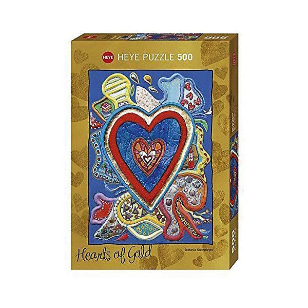 Купить Пазлы HEYE С любовью к жизни , 500 деталей, с фольгой, Германия, Унисекс
