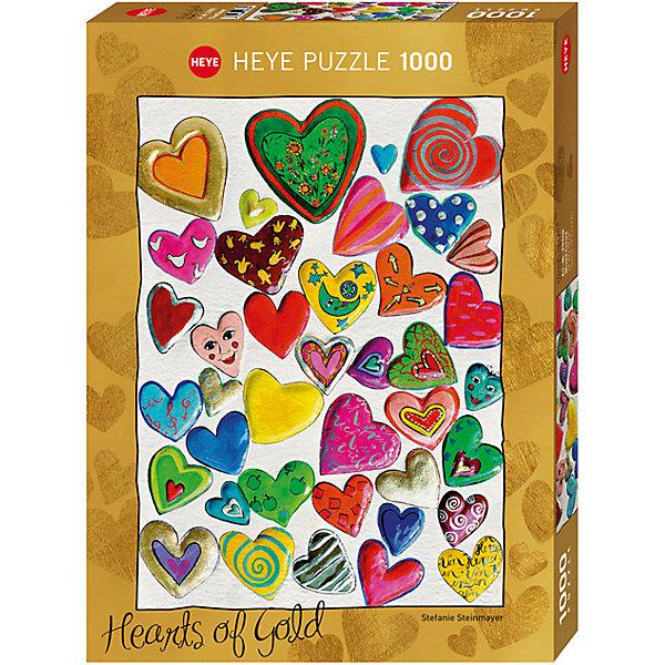 Купить Пазлы HEYE Сердца , 1000 деталей, с фольгой, Германия, Унисекс