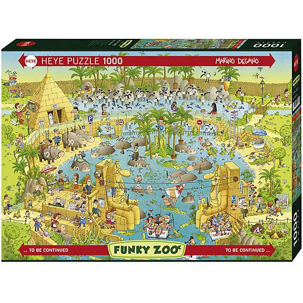 Купить Пазлы HEYE Зоопарк обезьян , 1000 деталей, Германия, Унисекс