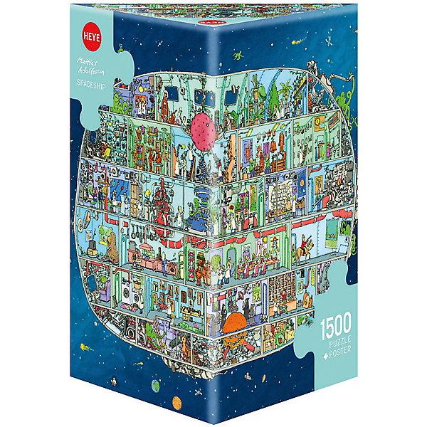 Купить Пазлы HEYE Космический корабль , 1500 деталей, Германия, Унисекс