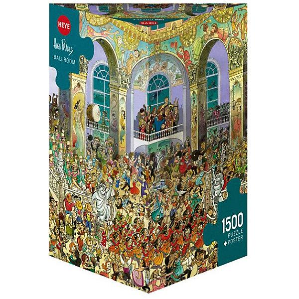 Купить Пазлы HEYE Бальный зал , 1500 деталей, Германия, Унисекс