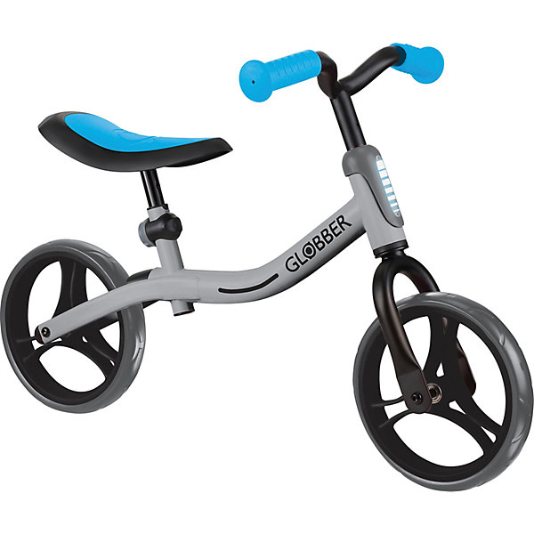 Беговел Globber Go Bike, серо-голубой синий/серебряный  9048272