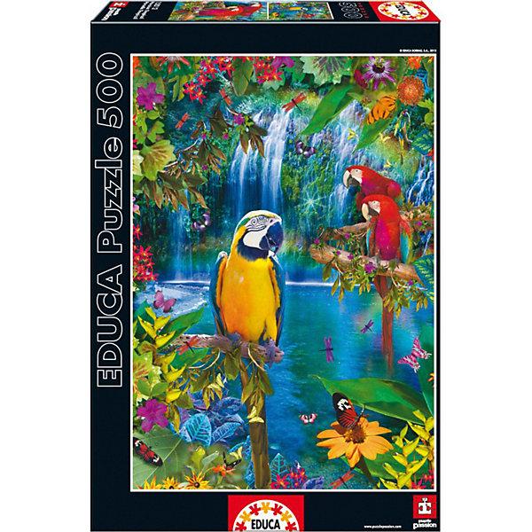 Educa Пазл Educa Тропические птицы 500 элементов пазл educa 500 эл 48 34см животные на краю скалы