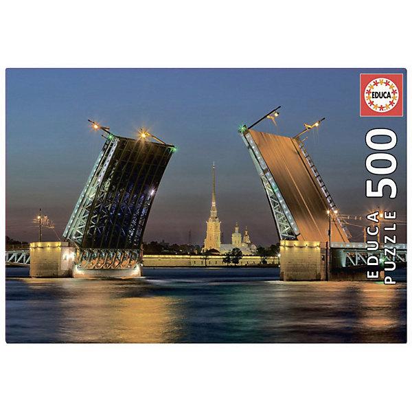 Educa Пазл Educa Развод Дворцового моста в СанктПетербурге 500 элементов