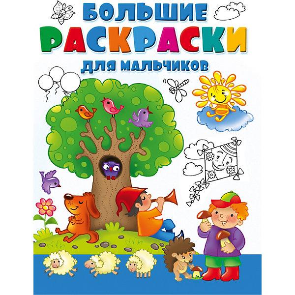 Издательство АСТ Большая раскраска для мальчиков книги издательство аст большая книга о фотографии