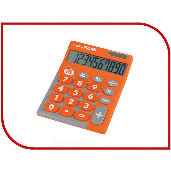 Milan Настольный калькулятор Milan, оранжево-серый