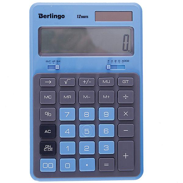 Berlingo Настольный калькулятор Berlingo Hyper, пенал berlingo paris pm04912