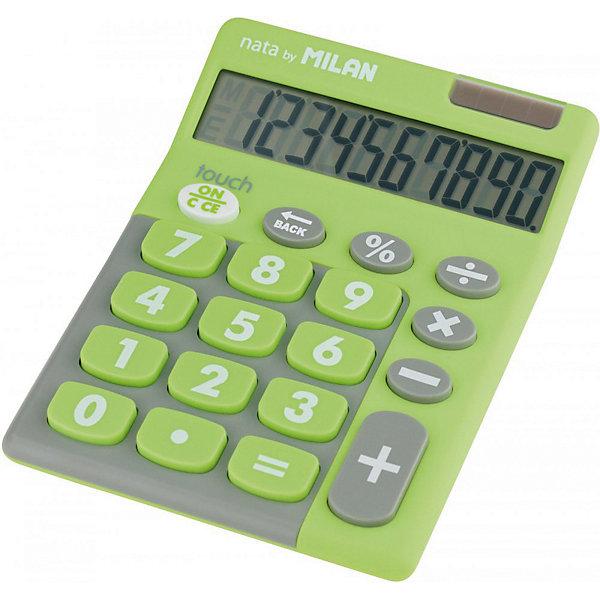 Milan Настольный калькулятор Milan, зелено-серый inter milan spal
