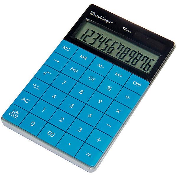 Настольный калькулятор Berlingo, синий