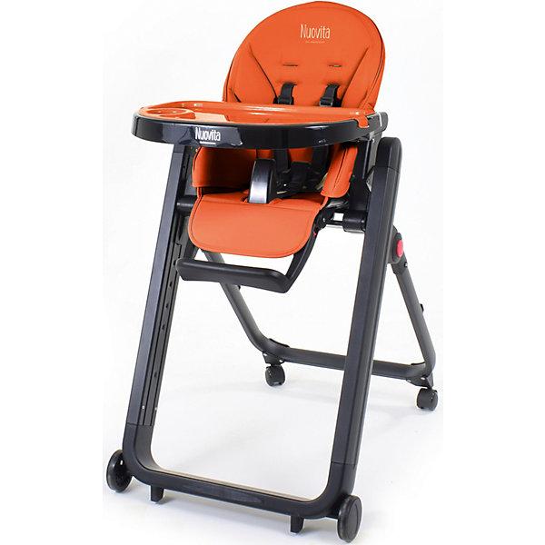 Nuovita Стульчик для кормления Nuovita Futuro Senso Nero, arancione стульчик для кормления nuovita futuro nero giallo