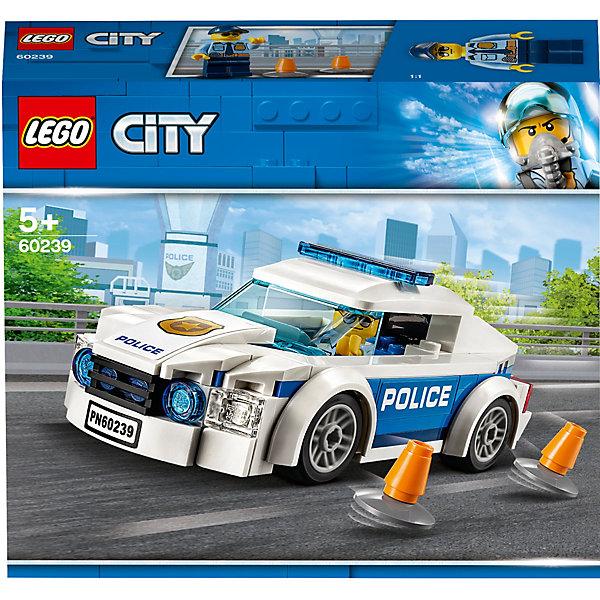 LEGO Конструктор LEGO City Police 60239: Автомобиль полицейского патруля конструктор lego city погоня по грунтовой дороге 297 элементов 60172
