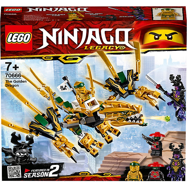 LEGO Конструктор Ninjago 70666: Золотой Дракон