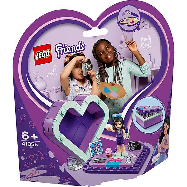Фото - LEGO LEGO Friends Шкатулка-сердечко Эммы 41355 фотоаппарат