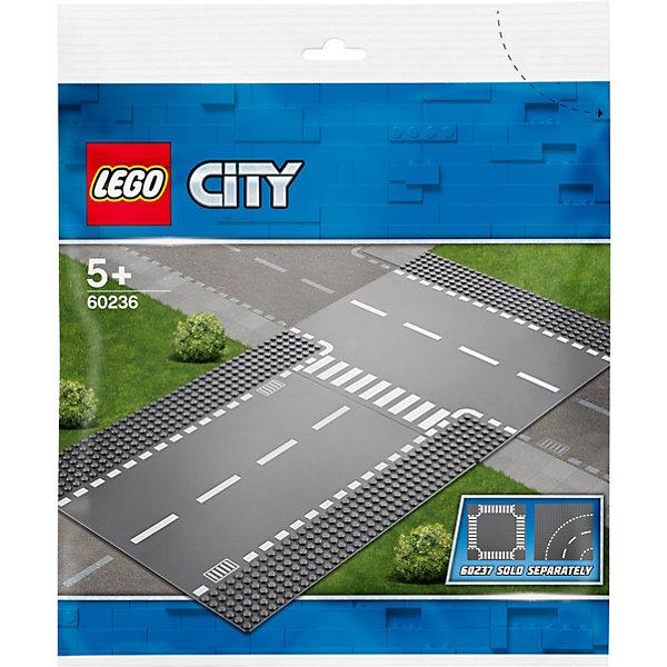 LEGO Конструктор City Supplementary 60236: Прямой и Т-образный перекрёсток