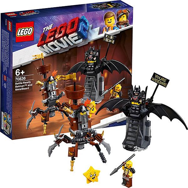 LEGO LEGO Movie Боевой Бэтмен и Железная борода 70836 lego movie бэтмен лоурайдер джокера