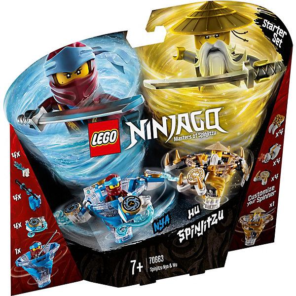 LEGO Конструктор Ninjago 70663: Ния и Ву: мастера Кружитцу