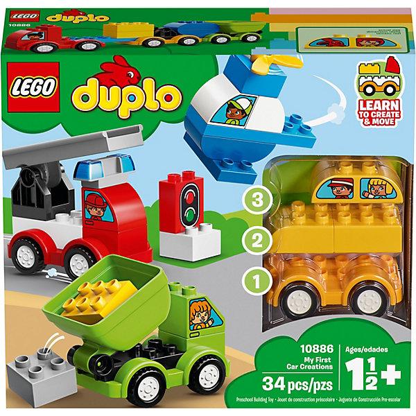 LEGO DUPLO My First Мои первые машинки 10886