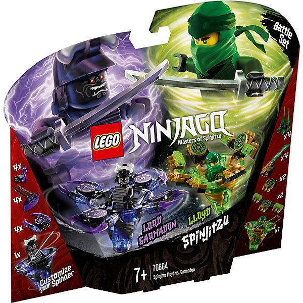 LEGO Конструктор Ninjago 70664: Ллойд мастер Кружитцу против Гармадона