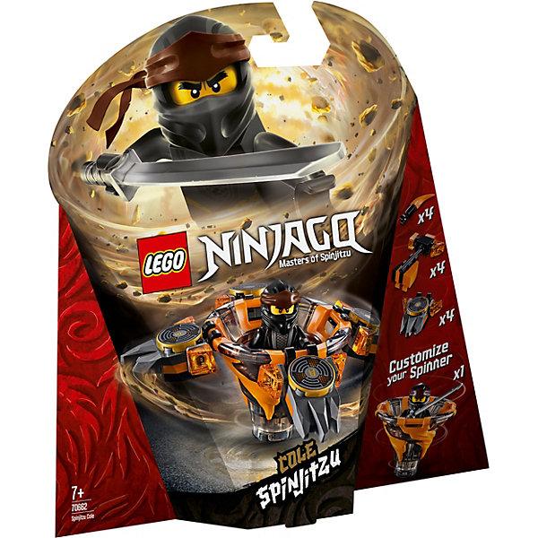 Купить Конструктор LEGO Ninjago 70662: Коул: мастер Кружитцу, Мужской