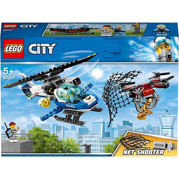 LEGO Конструктор City Police 60207: Воздушная полиция: погоня дронов
