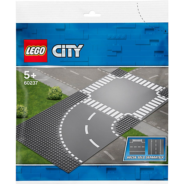 LEGO Конструктор City Supplementary 60237: Поворот и перекрёсток