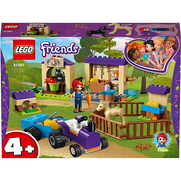 LEGO LEGO Friends Конюшня для жеребят Мии 41361