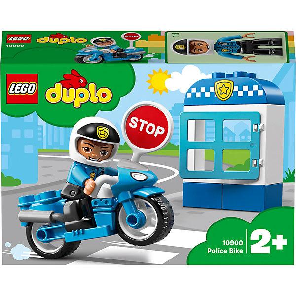 LEGO DUPLO Town Полицейский мотоцикл 10900