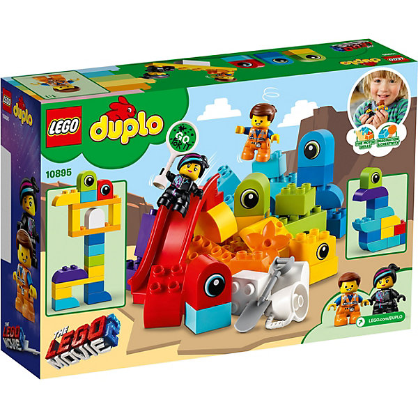 LEGO DUPLO LEGO Movie 2 Пришельцы с планеты DUPLO® 10895 спот eglo buzz led 92597